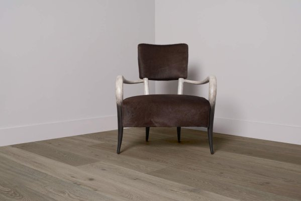 Pistoria flooring and chair in center corner
